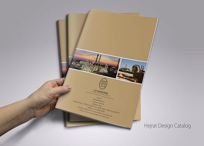 طراحی کاتالوگ تندیس همکاران